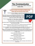 Communicator Senior Newsletter - October 2014