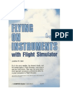 Flying on Instruments With Flight Simulator-no Charts