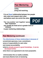 14Peer Mentoring