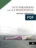 Compagnon a - las cinco paradojas de la modernidad.pdf