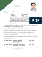 CV Education