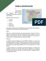 ESPAÑA Y EXPORTACION.docx