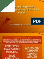 09. Dr. Gerald Mario - Faktor Psikologis Yang Mempengaruhi Kondisi Medik Umum Bhn Kul UKI 0710