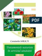 Tratamente Naturiste În Serviciul Sănătății