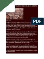 CIUDAD de MÉXICO - Siglos XVIII, XIX y XX y Patrimonio Arquitectónico