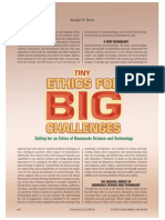TIny Ethics for BIG Challenges