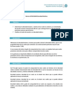 Norma ASTM D2049 Densidad Relativa