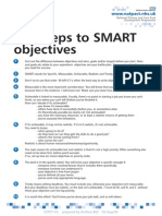Ten Steps to SMART Objectives