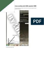 Como ver archivos ocultos del USB usando CMD.docx