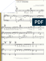 The Hunchback of Notre Dame-Out There-SheetMusicDownload