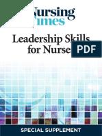 Leadership Skills for Nurses