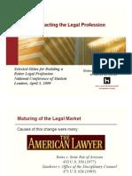 Trends Impacting Legal Profession