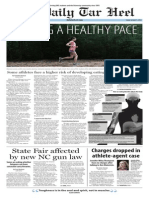 The Daily Tar Heel for Oct. 3, 2014