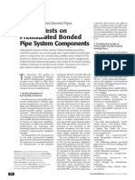 Quality Tests on Preinsulated Bonded Pipe System Components - AGFW
