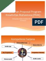 Penyusunan Proposal Program Kreativitas Mahasiswa (PKM)