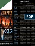 Landmarks Re Broadcast Schedule