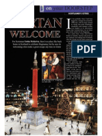 Scotland's Cities Feature the Travel & Leisure Magazine November 09