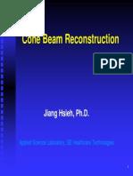 Cone Beam Reconstruction
