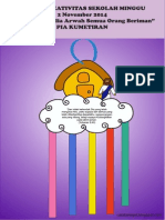 Bahan Kreativitas Sekolah Minggu 2 November 2014 PIA Kumetiran