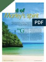 Jamaica Feature the Travel & Leisure Magazine Nov 09
