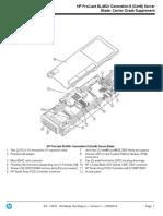 HP ProLiant BL460c Generation 8 (Gen8) Server Blade- Carrier Grade Supplement