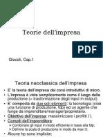 Teorie Dell'Impresa