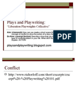 Plays and Play Writing