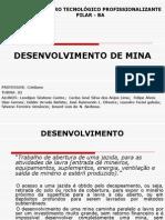 Desenvolvimento de minério.ppt
