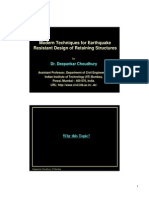 modern technique for earthquake resistantdesign