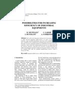 Increasing Efficiency of Industrial Equipment