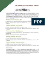 MBA RAnking España.pdf