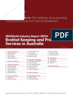 S9534 Brothel Keeping and Prostitution Services in Australia Industry Report
