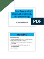 Critical Appraisal of Epidemiological Study.pdf