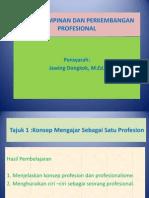 Asas Kepimpinan Dan Perkembangan Profesional