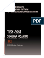 Alternatif Track Layout Surabaya Pasar Turi