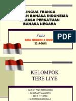 Sejarah Bahasa Indonesia