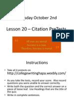 4 citation pretest links