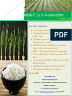2nd October,2014 Daily Global Rice E-Newsletter by Riceplus Magazine