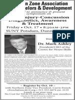 Brain Injury Symposium with Dr. Mark Ashley
