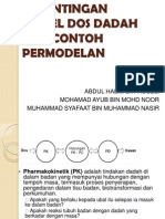 Kepentingan Model Dos Dadah Dan Contoh Permodelan