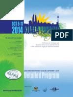 ISHRS Program 2014 KualaLumpur Malaysia 2014 DrAlanBauman
