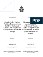SOR-98-180 Ontario Hydro Nuclear Facilities Exclusion from Part II of the Canada Labour Code Regulations.pdf