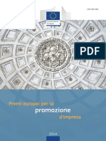 European Enterprise Promotion Awards Compendium 2014 in Italian