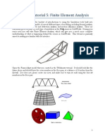 Tutorial 5 - FEA in SolidWorks.docx
