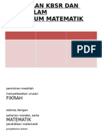 Perbezaan Kbsr Dan Kssr Dalam Kurikulum Matematik (1)