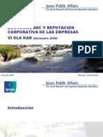 Estudio IPSOS KAR 2009- 2ª