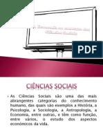 Economia no contexto das Ciências Sociais  .pptx