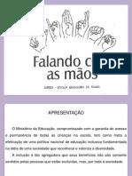 FALANDO COM AS MÃOS.ppt
