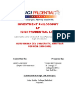 Icici Pru Investment
