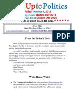 Wake Up to Politics - October 3, 2014